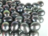 100pcs bronzy rice freshwater loose pearl beads of 6-7mm